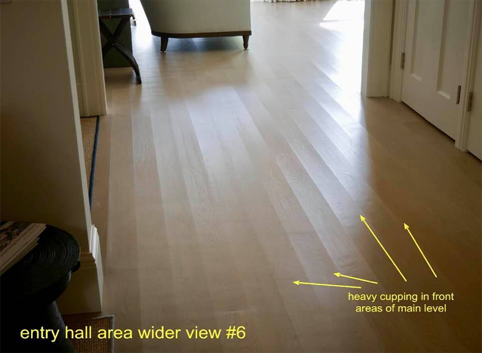 Floorensiks hardwood flooring inspection for Hardwood floors cupping